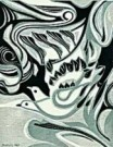 Makoto Ueno (1909-1980)  -  Ochtend wind - Postkaart -  C8285-1