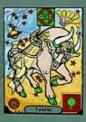 Richard M. Dipanda  -  Stier - Postkaart -  C8295-1