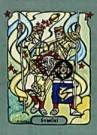 Richard M. Dipanda  -  Tweelingen - Postkaart -  C8296-1