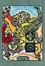 Richard M. Dipanda  -  Leeuw - Postkaart -  C8298-1