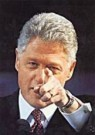 Gary Hershorn  -  Clinton - Postkaart -  C8371-1