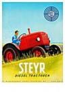 Jan Lavies (1902-2005)  -  Steyer Diesel tractor - Postkaart -  C8523-1