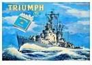 Jan Lavies (1902-2005)  -  Showkaart Triumphsigar - Postkaart -  C8526-1