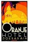 Jan Lavies (1902-2005)  -  Kofferetiket Oranje - Postkaart -  C8530-1