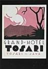 Jan Lavies (1902-2005)  -  Kofferetiket hotel vereniging Java 1928 - Postkaart -  C8548-1