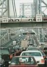 Steven Siegel (1953)  -  George Washington Bridge 1995 - Postkaart -  C8875-1
