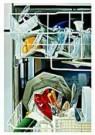 Tjalf Sparnaay (1954)  -  De Vaatwasser - Postkaart -  C9113-1