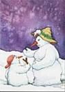 Capucine Mazille  -  Sneeuwbal - Postkaart -  C9260-1