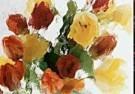 Martie Seesing  -  Tulips nr. IV, 1998 - Postkaart -  C9336-1