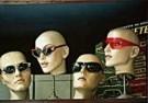 Brian Quinn  -  Vier raamfiguren met bril - Postkaart -  C9341-1