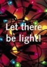 Paul Baars (1949)  -  Text en afbeelding nr. 65 / Let there be light - Postkaart -  C9532-1