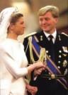 Fred Ernst  -  Maxima & Alex bruiloft - Postkaart -  C9717-1