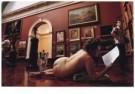 Russel Miljard  -  Performance Artist, Posing in the Adelaide Art Gal - Postkaart -  C9846-1