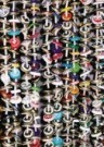 Noortje van Kamer  -  Dopjes vliegen gordiijn - Postkaart -  C9899-1