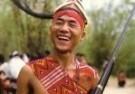 Frans Welman  -  Wanchu Naga Jeugd feestelijke stemming - Postkaart -  C9951-1
