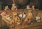 Mirja de Vries  -  Christmas Teds 11 - Postkaart -  D0361-1