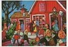 Anoniem,  -  Anoniem/Christmas time. - Postkaart -  D0480-1
