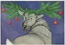 Capucine Mazille  -  C.Mazille/Kerstdier - Postkaart -  D0601-1