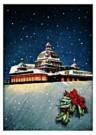 Jan Lavies (1902-2005)  -  omslag kerstmenu - Postkaart -  D0708-1