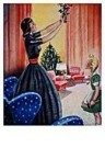 Jan Lavies (1902-2005)  -  omslag kerstnummer - Postkaart -  D0709-1