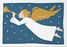 Muriel de Crayencour  -  Ange & Trompette - Postkaart -  D0809-1