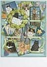 Francien van Westering (1951)  -  Franciens kerst prikbord - Postkaart -  D0835-1