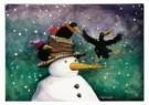 Capucine Mazille  -  Hoi het sneeuwt! - Postkaart -  D0908-1