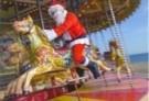 Gill Hasson  -  Santa in Brighton - Postkaart -  D1100-1