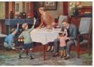 -  De schoentjes zijn gevuld, ca. 1930 - Postkaart -  D1113-1