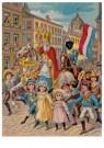 -  Intocht Sinterklaas, 19e eeuw - Postkaart -  D1118-1