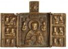 -  De Heilige Nicolaas en enkele heiligen - Postkaart -  D1126-1