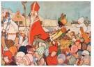 -  Intocht van Sinterklaas, ca. 1935 - Postkaart -  D1135-1