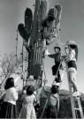 Spaarnestad Fotoarchief,  -  Kerstmis, kerstviering in de woestijn van Tuscon - Postkaart -  D1205-1