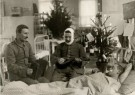 Spaarnestad Fotoarchief,  -  kerst,eerste wereldoorlog, een gewonde soldaat - Postkaart -  D1208-1
