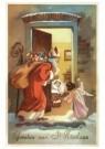 .  -  Sint op bezoek - Postkaart -  D1221-1