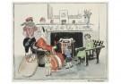 .  -  Sint en Piet komen op bezoek - Postkaart -  D1226-1