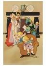 .  -  Sint en Piet brengen geschenken - Postkaart -  D1230-1