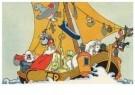 -  Sint op de woelige baren - Postkaart -  D1239-1