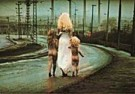 Jan Saudek (1935)  -  Jan Saudek/Destiny walks down - Postkaart -  F1910-1