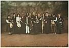 Jan Saudek (1935)  -  Jan Saudek/Wedding (gekleed) - Postkaart -  F1941-1