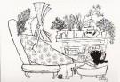 Fiep Westendorp (1916-2004)  -  Untitled - Postkaart -  FW138-1