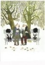 Fiep Westendorp (1916-2004)  -  J+J oude heertjes - Postkaart -  FWC061-1