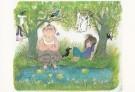 Fiep Westendorp (1916-2004)  -  Otje bij meertje. - Postkaart -  FWC065-1