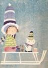 Fiep Westendorp (1916-2004)  -  Winterboek - Postkaart -  FWC220-1