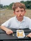 Ronald Hammega (1948)  -  De patat komt m'n neus en oren uit / fries / frites / friet - Postkaart -  PC105-1