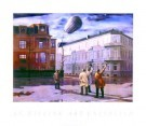 Carel Willink (1900-1983)  -  Zeppelin - Poster -  PS041-1