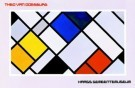 Theo van Doesburg (1883-1931)  -  Haags Gem. Mus./ 63*97/ K W - Postkaart -  PS048-1