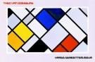 Theo van Doesburg (1883-1931)  -  Haags Gem. Mus./ 63*97/ K W - Postkaart -  PS048-1
