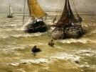 Hendrik W. Mesdag (1831-1915)  -  H.W.Mesdag/Klaar voor vertrek - Postkaart -  PS1007-1