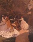 Claude Monet (1840-1926)  -  Femmes aux jard - Poster -  PS1009-1